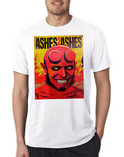 David Bowie Ashes To Ashes Funny Hellboy Inspired Mens T-Shirt