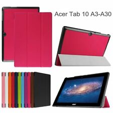 PU Leather Case Tablet Stand Cover Protector Skin For Acer Iconia Tab 10 A3-A30