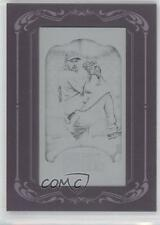 2012 Topps Gypsy Queen Printing Plate Minis Black Framed #170 Cliff Lee Card