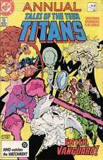 Tales of the Teen Titans Annual #4 in Very Fine + condition. FREE bag/board