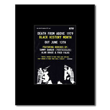 DEATH FROM ABOVE 1979 - Black History Month Mini Poster