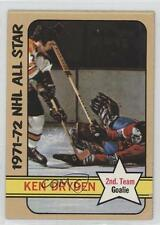 1972-73 Topps #127 Ken Dryden Montreal Canadiens Hockey Card