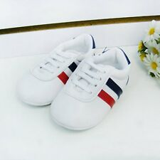 Toddler Baby Boys Girls Soft Sole Crib Shoes PU Leather Anti-slip Shoes Sneakers