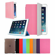 New Soft Slim Leather Case Smart Cover Stand For Apple iPad Air 1 2 Fast Ship