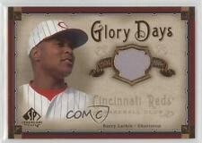 2005 SP Legendary Cuts Glory Days Jerseys Memorabilia #GD-BL Barry Larkin Card