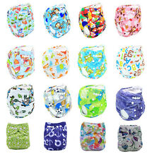 Cute Infant Diaper Toddle Baby Washable Cloth Diaper Kids Adjustable Nappy Cover
