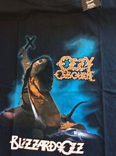 Official T Shirt OZZY Osbourne Black Sabbath RARE BLIZZARD IN Sizes LG, XL ONLY