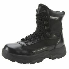 """Rocky Work Boots Mens 8"""" Fort Hood Waterproof Leather Black FQ0002049"""