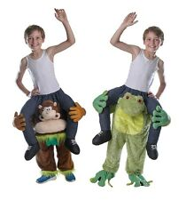 CHILD PIGGY BACK #MONKEY OR FROG COSTUMES FANCY DRESS BOOK WEEK PARTY