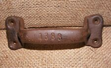 Handle Cast Iron Large Door Pull Gate Pulls Country Barn Rustic Farmhouse #411