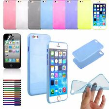 """For Apple iPhone 6S/6 4.7"""" Case Clear Slim Shockproof Soft TPU Bumper Cover"""