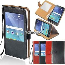 window view Flip Leather Wallet Stand Cover Case For Samsung Galaxy S 2345 Phone