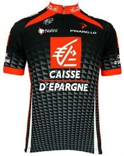 CYCLING BIKE JERSEY SHORT SLEEVE MENS TEAM CAISSE D'EPARGNE 2010 NEW WITH TAGS