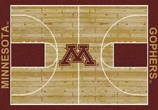 Minnesota Golden Gophers Basketball Court Rug