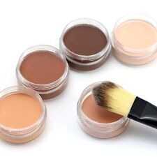 Pro Makeup Foundation Concealer Long Lasting Face Cover Primer Cream Cosmetic