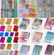 Nail Foils Wraps Transfer Stickers Decal Paper Nail Art Polish Decoration Tips