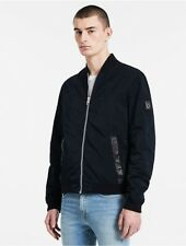 calvin klein mens nylon blend bomber jacket