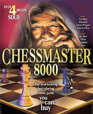 Chessmaster 8000 PC CD-ROM 2 DISC SET! LEARN AND MASTER CHESS! L@@K HERE!