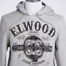 **NEW**ELWOOD**Grey hooded jumper - sz S, M, L, XL, XXL mens RRP$99.99