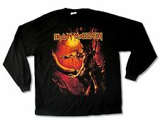 Iron Maiden Fear of The Dark 2010 Tour N.A. Black Long Sleeve Shirt New Official