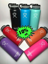 NEW 40oz Hydro Flask Wide Mouth Insulated Stainless Steel Water Bottle