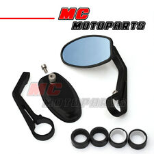1pair Black Reverse Retro CNC Bar End Mirrors Bandit B-King SFV SV GSF 1000 1250