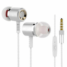 Langsdom M400 In-Ear Earphone Super Bass Metal Earphones with Mic Stereo Earbuds