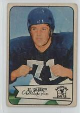 1954 Bowman #109 Ed Sharkey Baltimore Colts RC Rookie Football Card