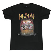 Def Leppard Songs From The Sparkle Lounge Graphic Printed Men's Black T-shirt