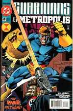 Guardians of Metropolis #3 in Near Mint condition. FREE bag/board