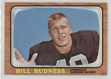 1966 Topps #105 Bill Budness Oakland Raiders RC Rookie Football Card