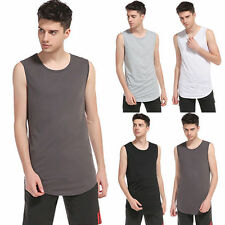 Men Undershirt  Men A Shirt Wife-beater Tee Tank Top Sleeveless Summer T-Shirt