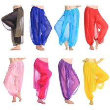 New Belly Dance Indian Costumes Sequins Trousers Dancer Tribal Harem Pants