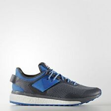 New adidas RESPONSE 3 BOOST Running Shoes AQ2500 Grey/Ray Blue/Ray Blue s1