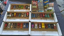 Lot of 52 Cars Matchbox Hot Wheels Tootsietoy Lesney Redline+ 1960's to Forward