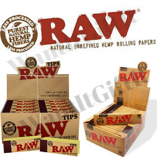 RAW RIZLA CLASSIC KING SIZE SLIM 110MM ROLLING PAPER WITH  FILTER TIPS