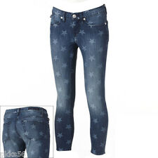 $72 NWT Rock & Republic Hamburg Star Skinny Ankle Low Rise Jeans