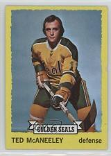1973-74 Topps #37 Ted McAneeley California Golden Seals Hockey Card