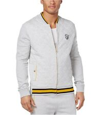 Sean John Mens Quilted Logo Track Jacket