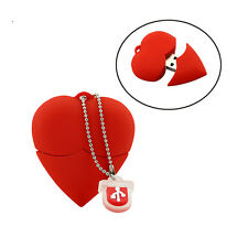 Red Hearts USB Flash Pen drive Driver Genuine Flash Memory Stick Pendrive U disk