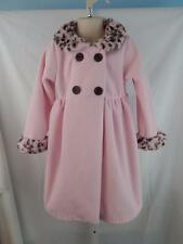 Pete's Partner Good Lad sz 5 girls coat jacket fleece pink church Easter
