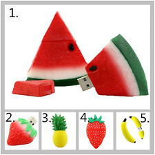 Cartoon fruit USB Flash Drive USB 2.0 Pen Drive Pendrive Memory Disk USB stick