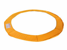 ExacMe Trampoline Replacement Safety Pad Frame Spring Round Orange Cover 10-16FT