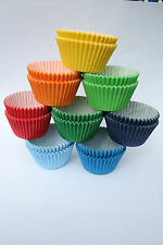 CUPCAKE CASES ONLY 1 P&P! Multi Colour Quality CupCake Muffin Cases Baking Cakes