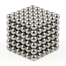 Magic 216PCS DIY 3mm Magnetic Cube Puzzle Ball Spheres Educational Toy Kids N35