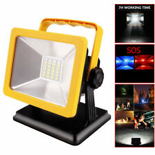 Portable 24 Led Rechargeable Camping Spotlights Emergency Work Light Lamp Bulbs