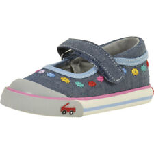 See Kai Run Toddler Girl's Marie Chambray Mary Janes Shoes