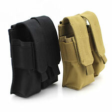 Tactical Molle Clip Double Mag Magazine Pouch Bag Pistol Magazine Pouch For AK