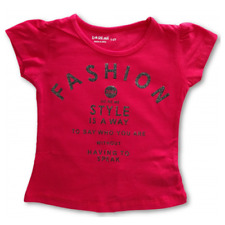 Baby/ Girls Size 0~8 Top/ T-shirt Fashion / Style is a way Print - Cotton/ Lycra