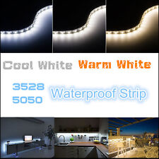 5M SMD 150/300/600 Led Cool/Warm white Strip Light 5050/3528 LED Flexible Light